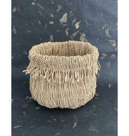 Omba Folded String Basket Medium Natural