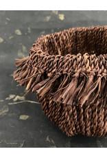 Omba Medium Dyed Folded String Basket
