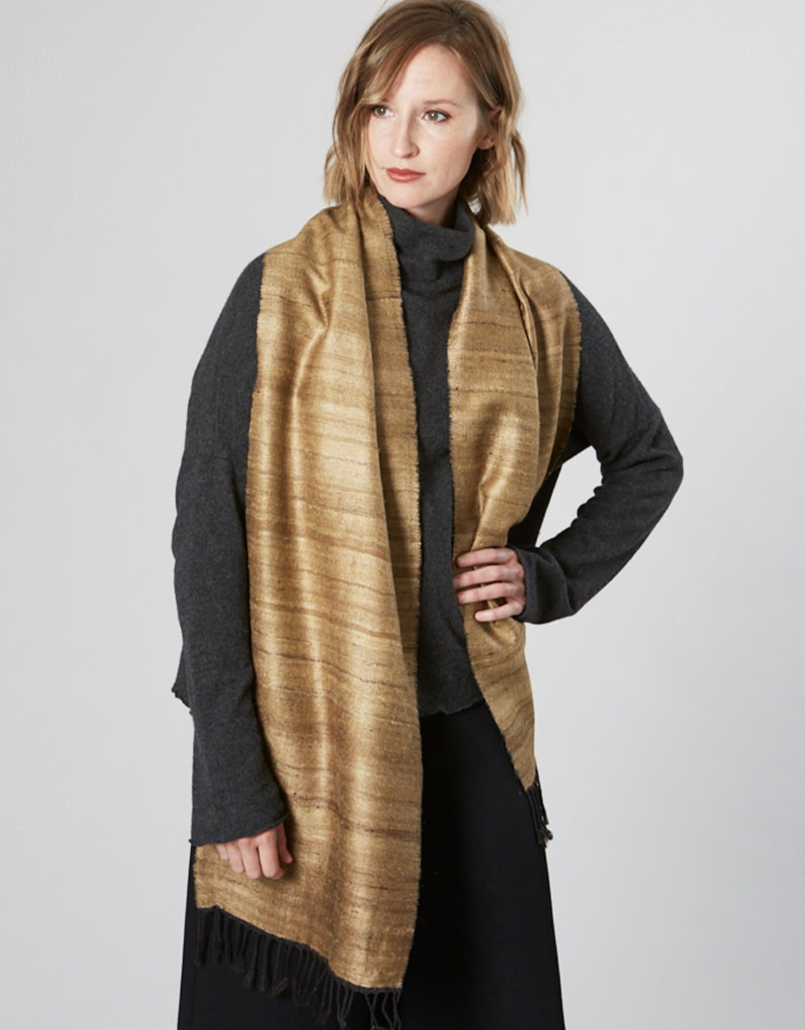 Avani Shauka Scarf Gold