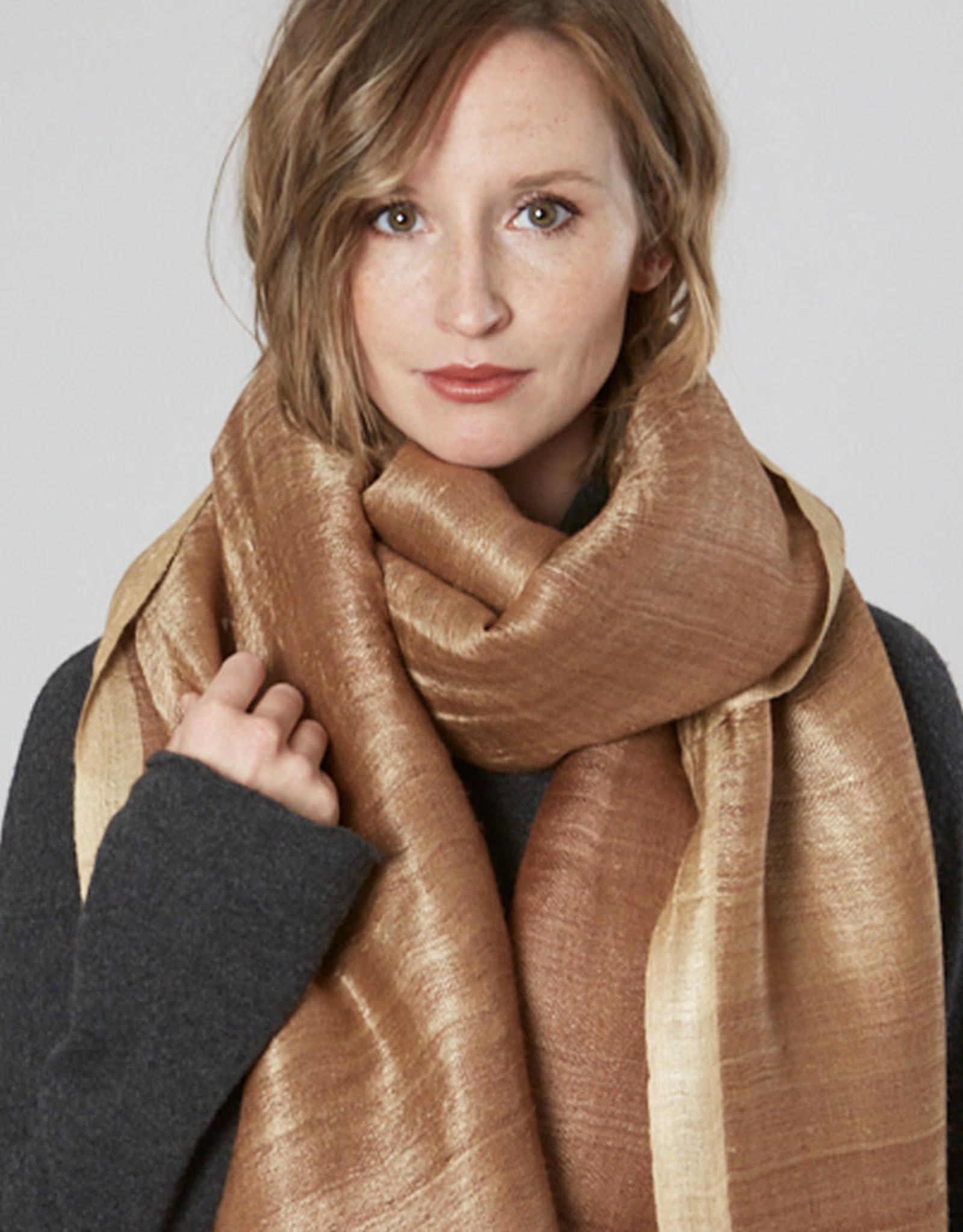 Avani Shauka Scarf Copper