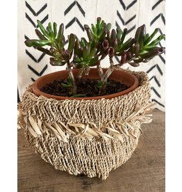 Omba Folded String Basket Large Natural