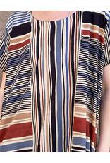 Haridra Hand Painted Dress Abstract 5