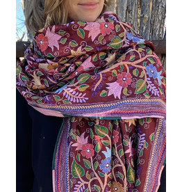 SHE Malika Shawl Berry Multi