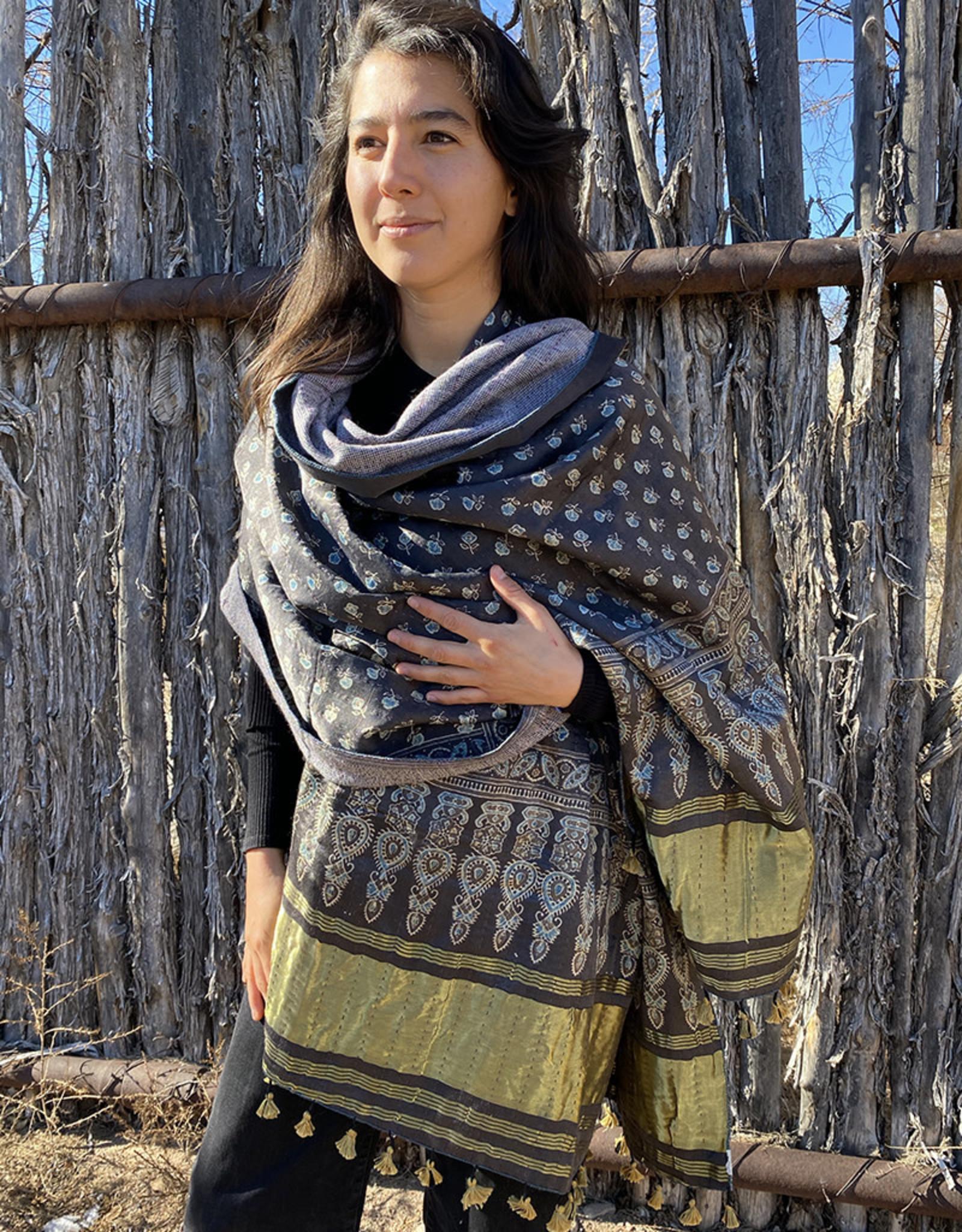 Sufiyan Ziba Shawl Grey