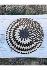 Omba Kavango Basket Horizon Black White