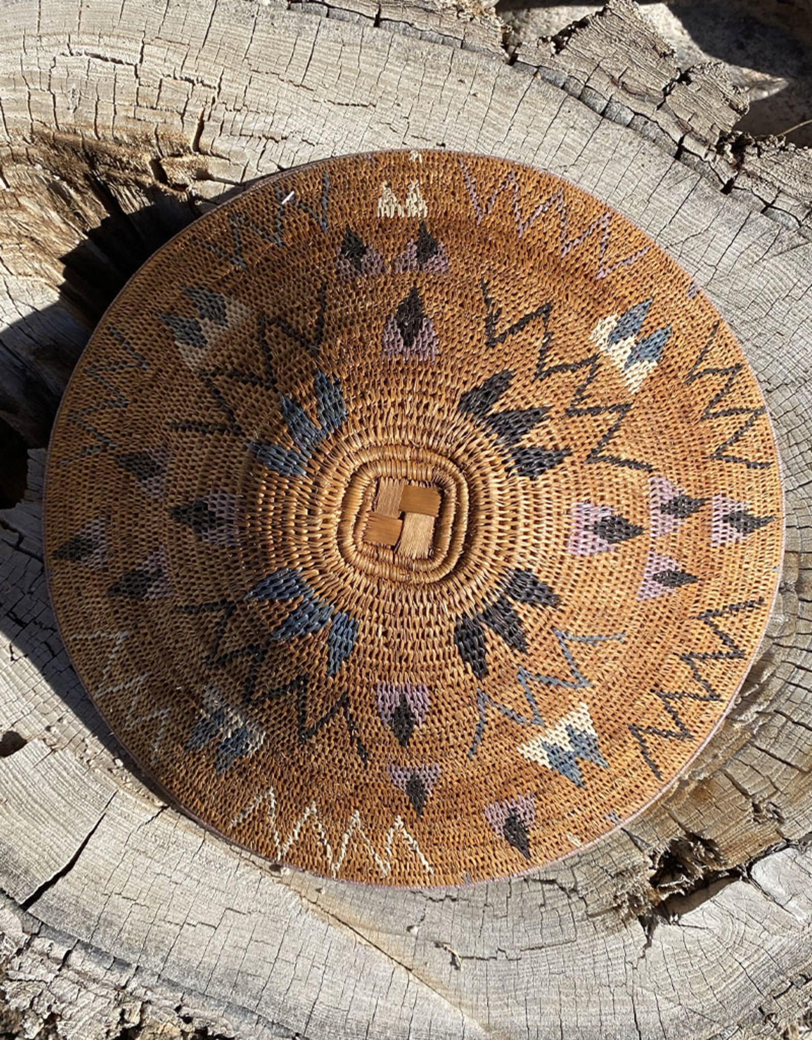 Omba Kavango Basket Starburst Natural Multi