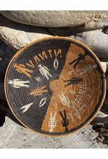 Omba Kavango Basket Tribe Natural Black