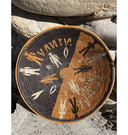 Omba Kavango Basket Tribe Natural Black
