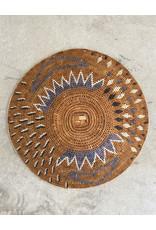 Omba Kavango Basket Starburst Natural Grey White