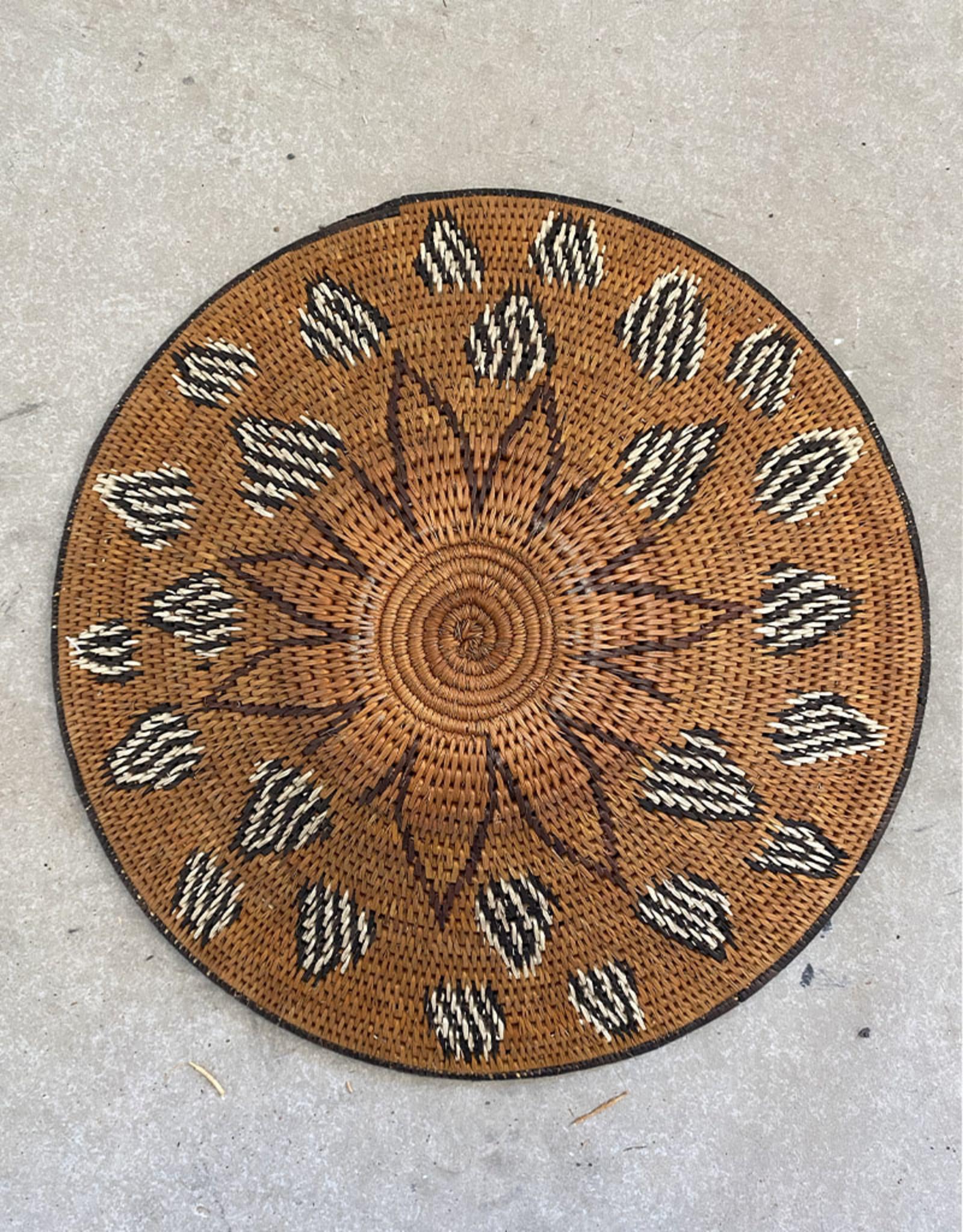 Omba Kavango Basket Starburst Natural Brown