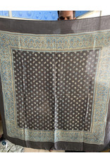 Sufiyan Danya Scarf Grey Blue