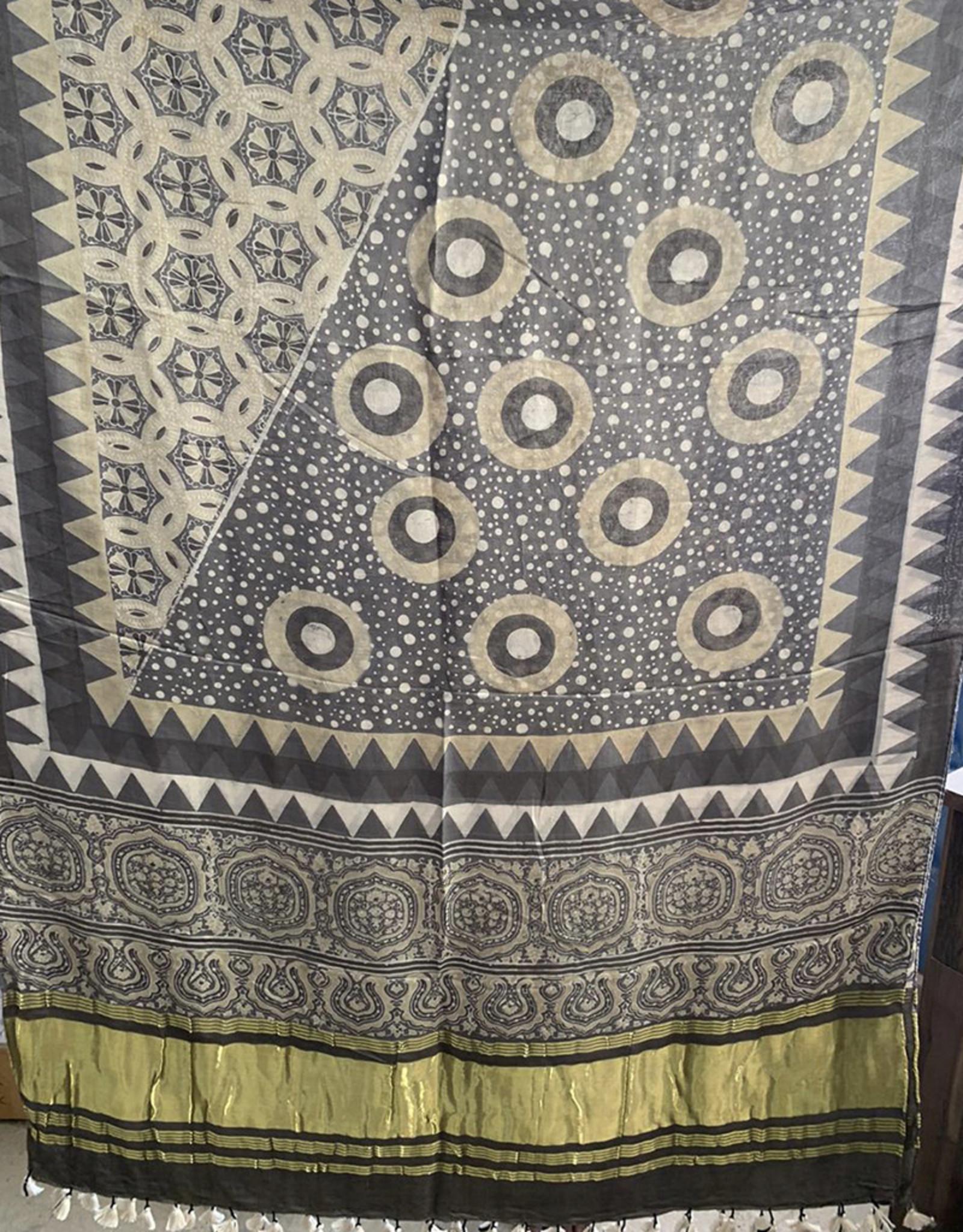 Sufiyan Fahsha Shawl Grey