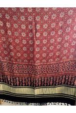 Sufiyan Fahsha Shawl Crimson
