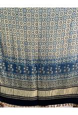 Sufiyan Fahsha Shawl Blue Green