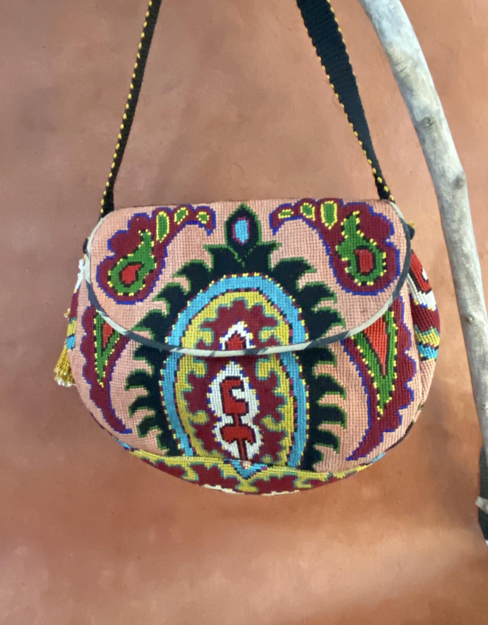 Gulnora Suzani Classic Bag Rose