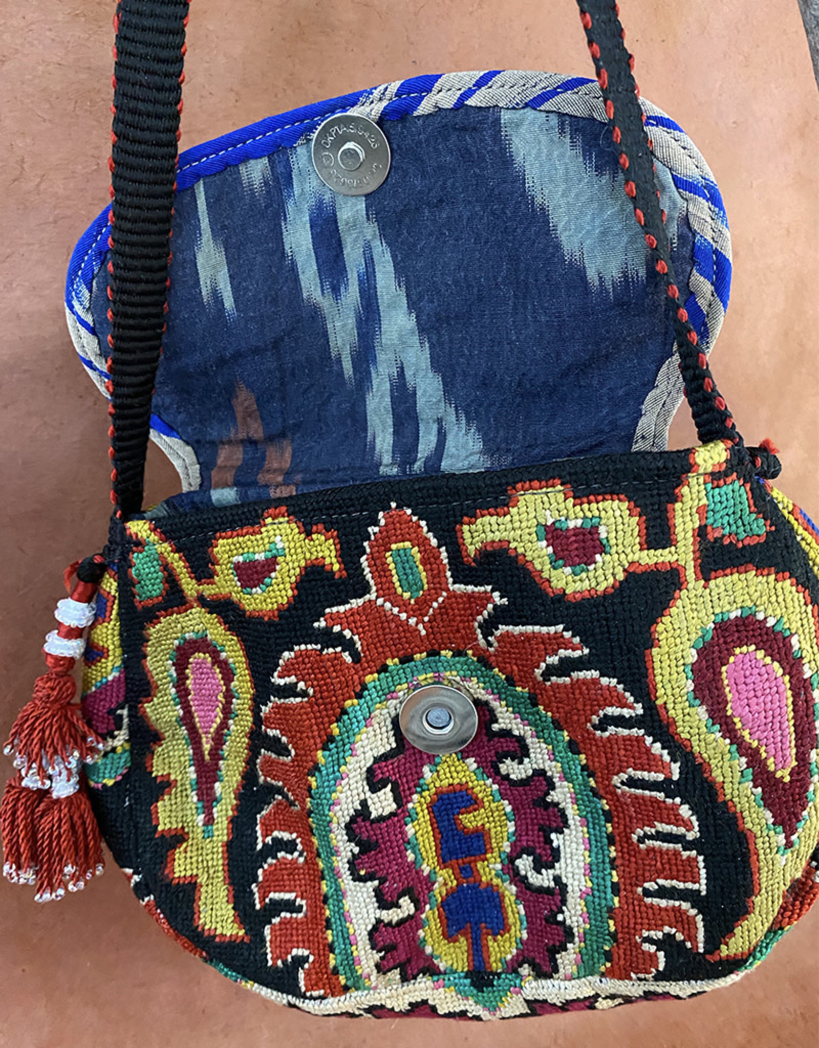 Gulnora Suzani Classic Bag Black