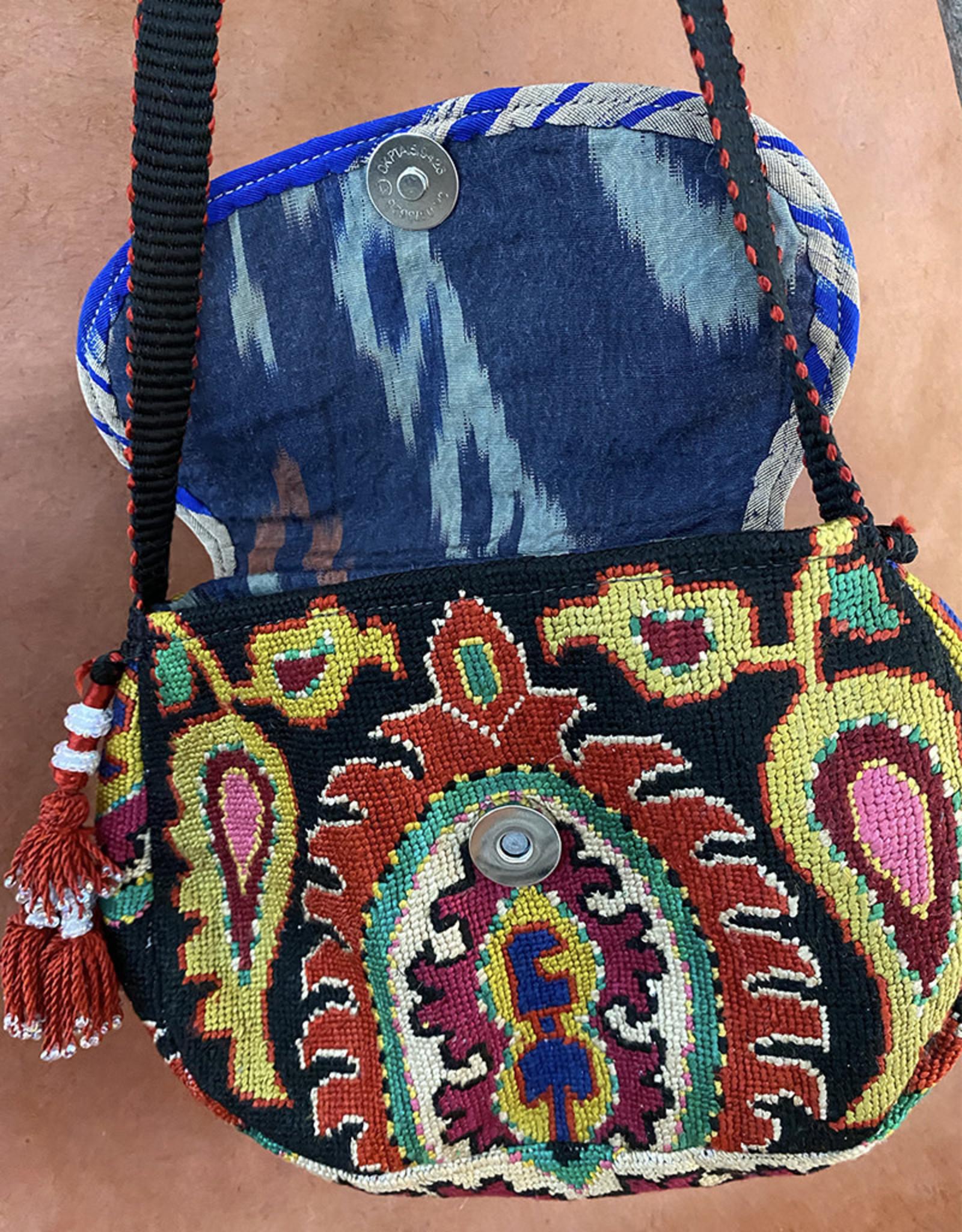 Suzani Classic Bag Black