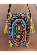 Suzani Pouch Clay