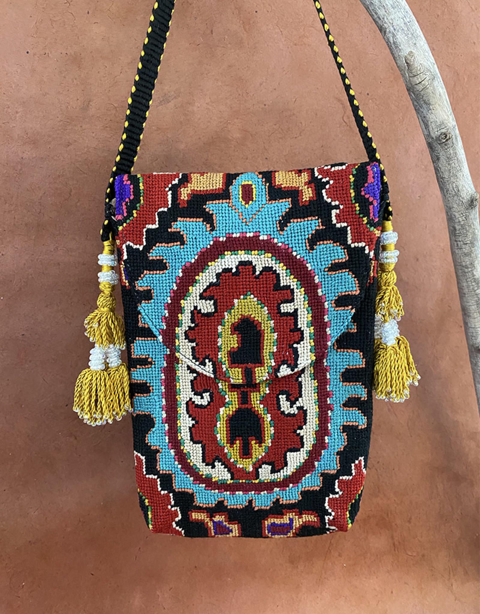 Gulnora Suzani Pouch Turquoise