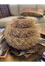 Tahiana Handwoven Vetiver Nest Basket Medium