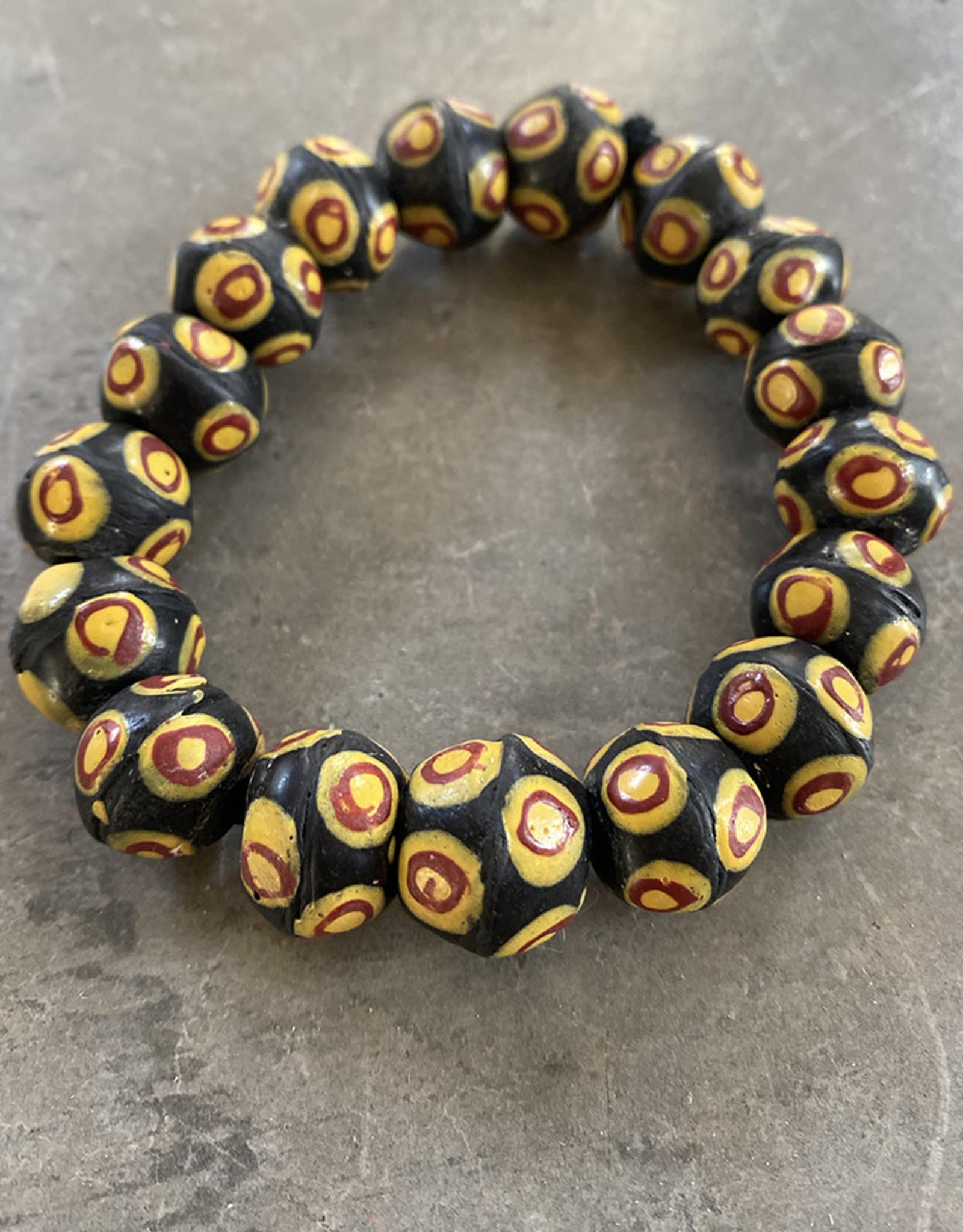Cedi King Bead Bracelet Evil Eye