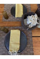 Comptoir Mustard Napkin With Tassels