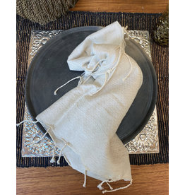 Comptoir Natural Napkin With Tassels