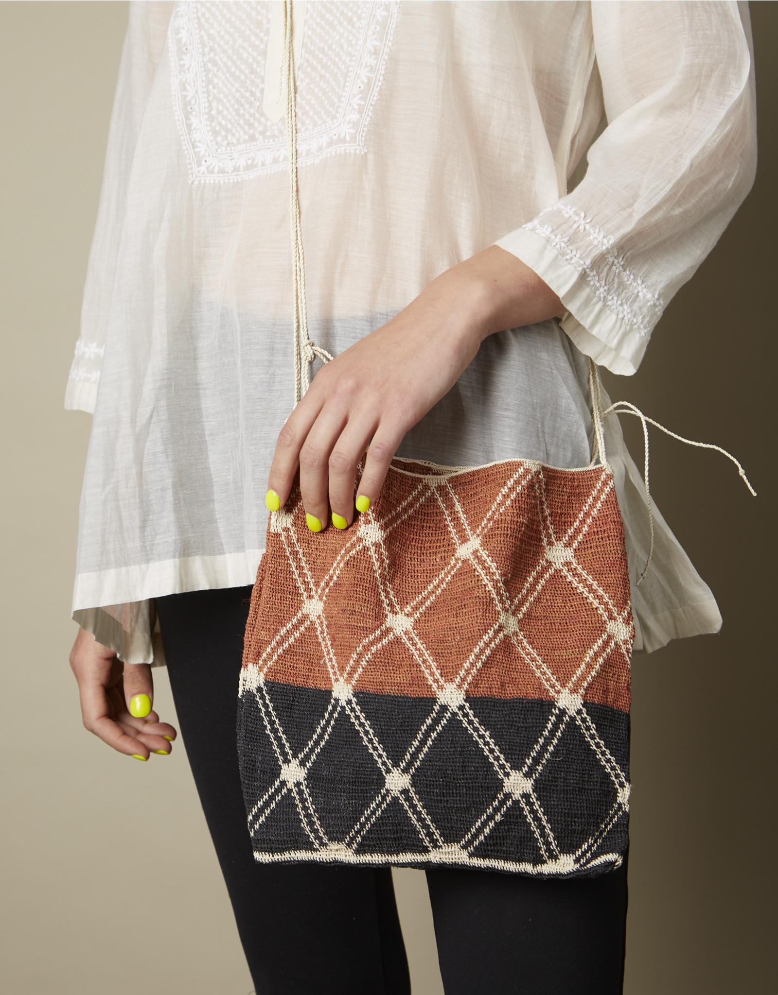 Dajudie Woven Bag Cinnamon