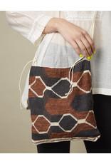 Dajudie Woven Bag Brown