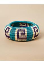 Finatur Werregue Basket Bangle Turquoise