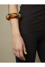Finatur Werregue Basket Bangle Orange Olive Black
