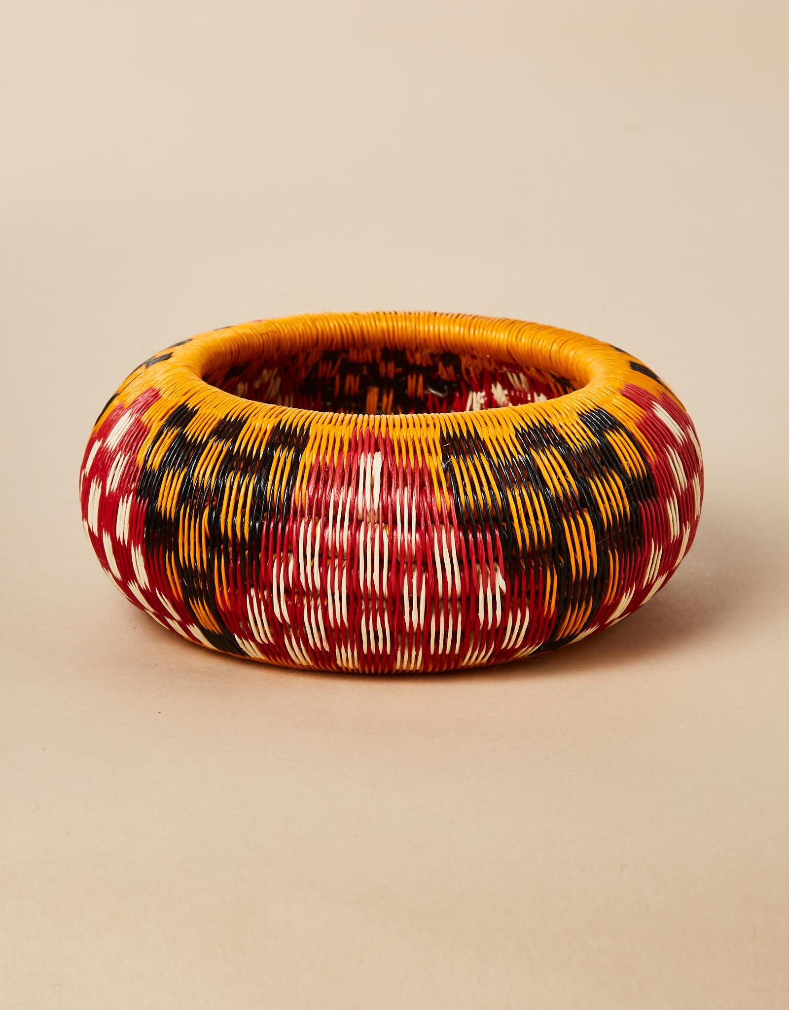 Finatur Werregue Basket Bangle Red White Black Orange