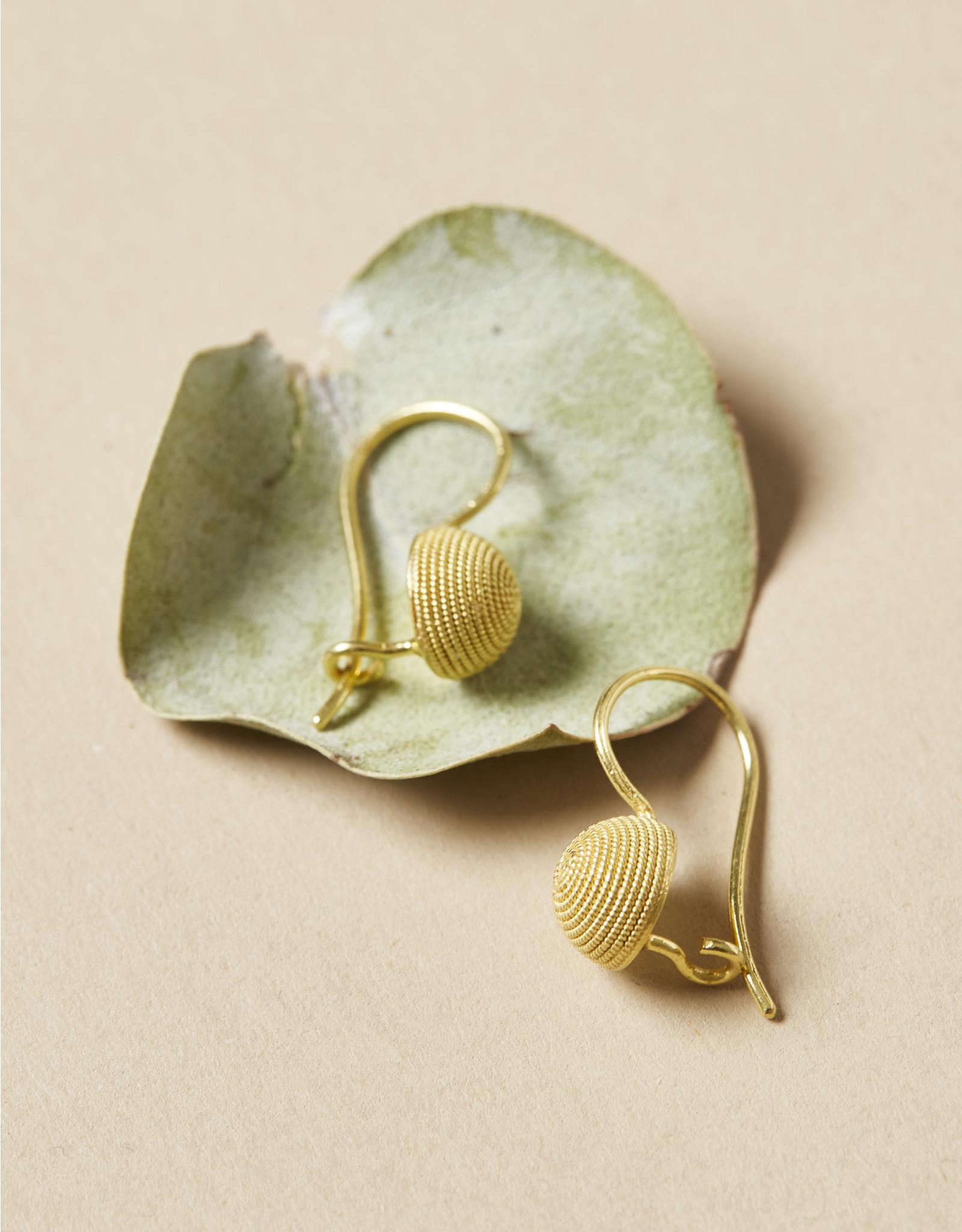 Kokku Spirale Drop Earrings Piccoli