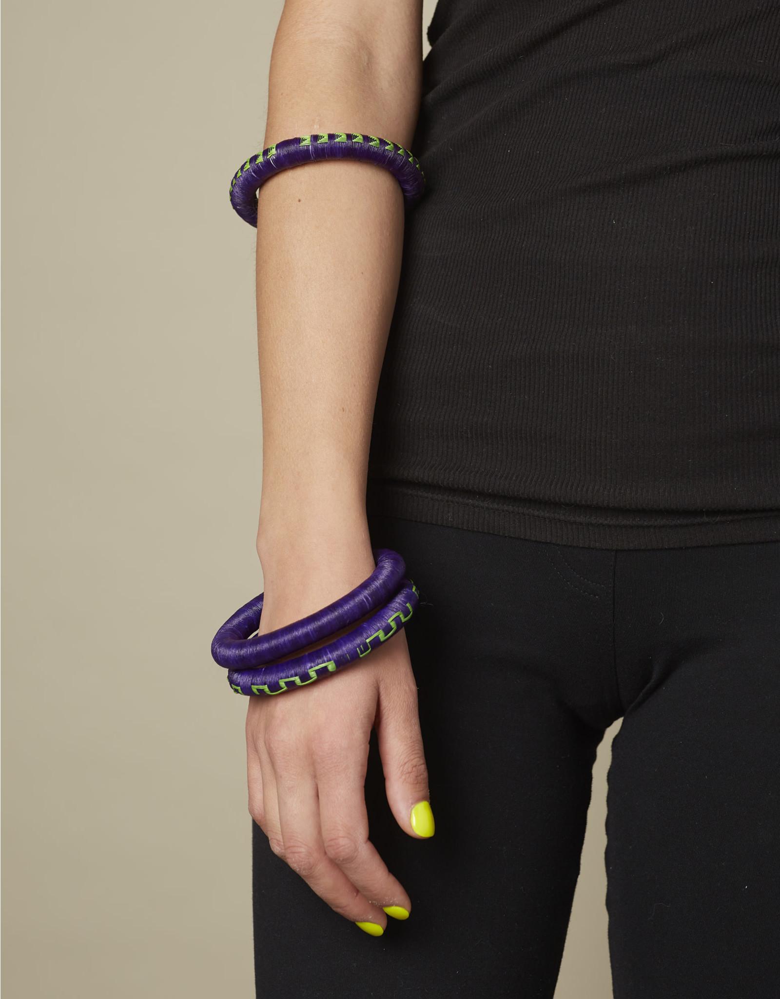 Finatur Wounaan Bangle Purple