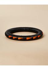 Finatur Wounaan Bangle Black Orange Wing
