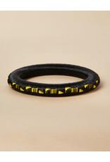 Finatur Wounaan Bangle Black Yellow