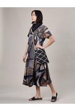 Haridra Hand Painted Dress Abstract 7