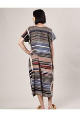 Haridra Hand Painted Dress Abstract 2