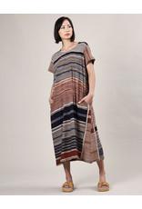 Haridra Hand Painted Dress Abstract 6