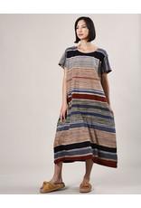 Haridra Hand Painted Dress Abstract 9
