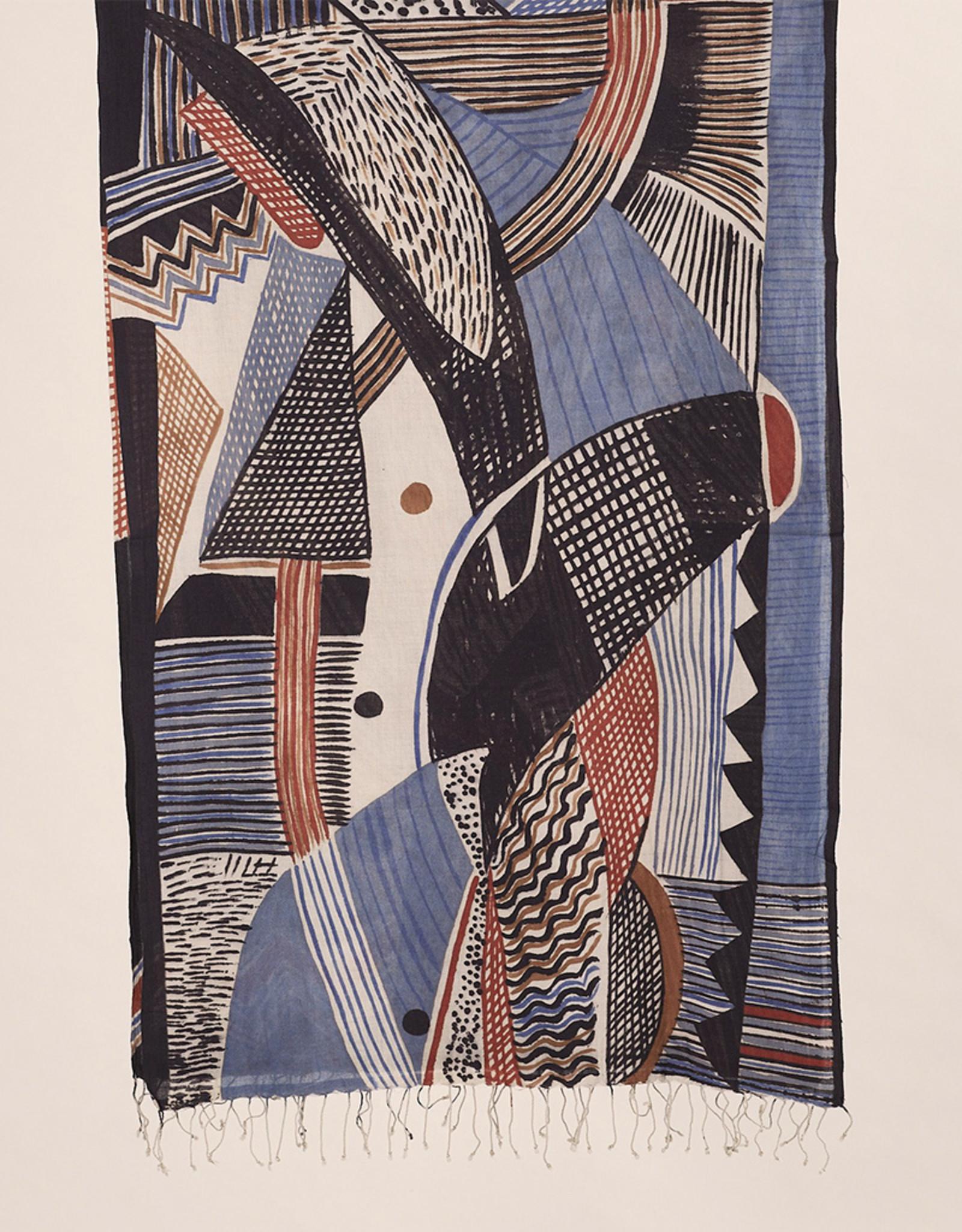 Haridra Cubist Scarf 10