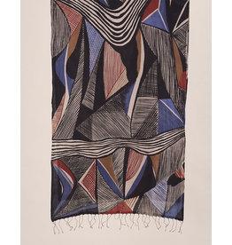 Haridra Cubist Scarf 12
