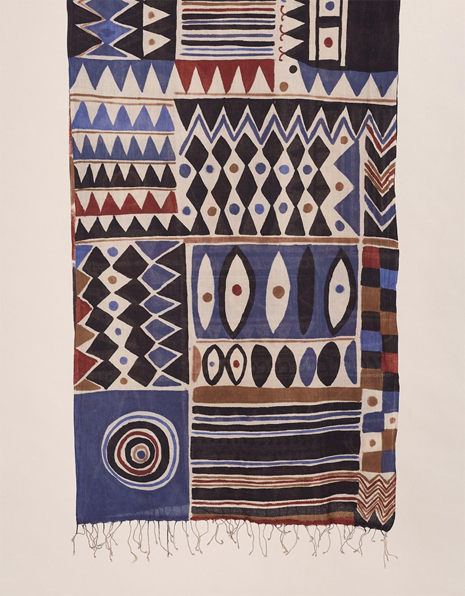 Haridra Cubist Scarf 14
