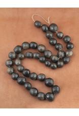 Sejnene Handmade Blackened Clay Beads