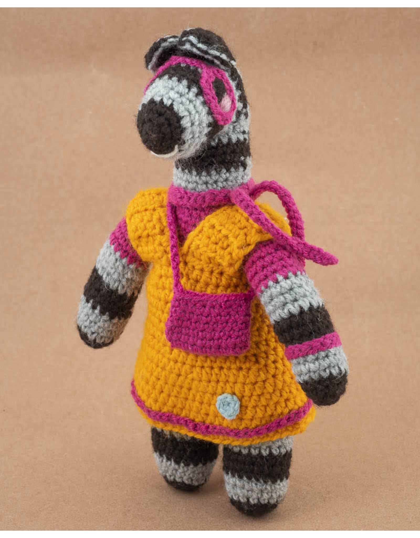 Omba Zebbie Zebra Stuffed Animal