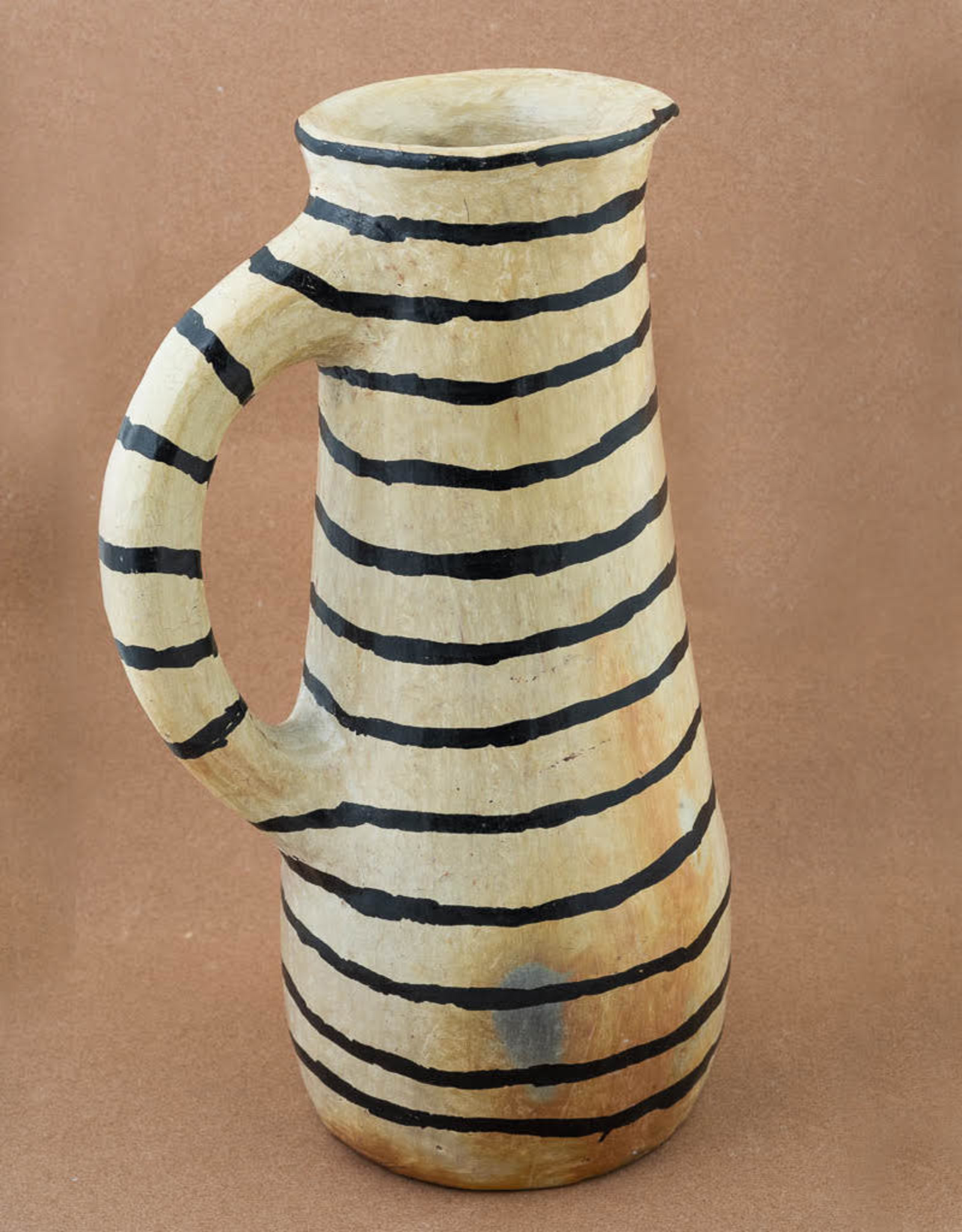 Sejnene Striped Pitcher