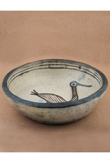 Sejnene Bowl with Bird