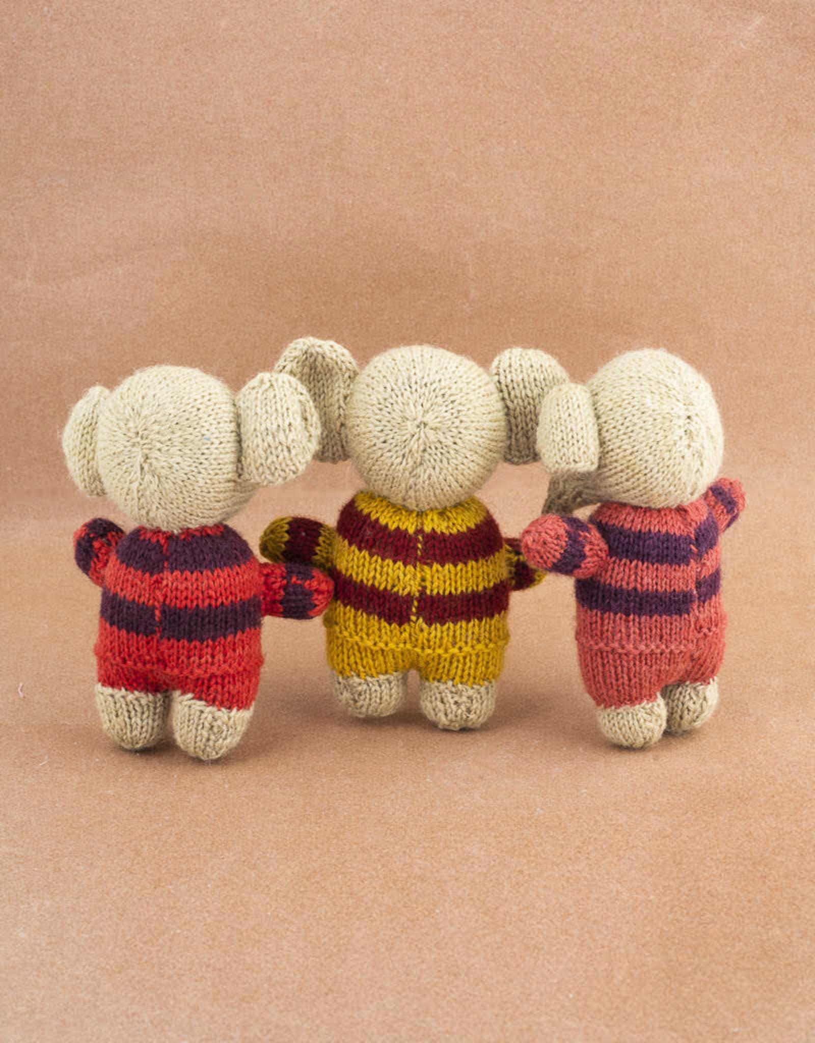 Avani Handknit Baby Elephant