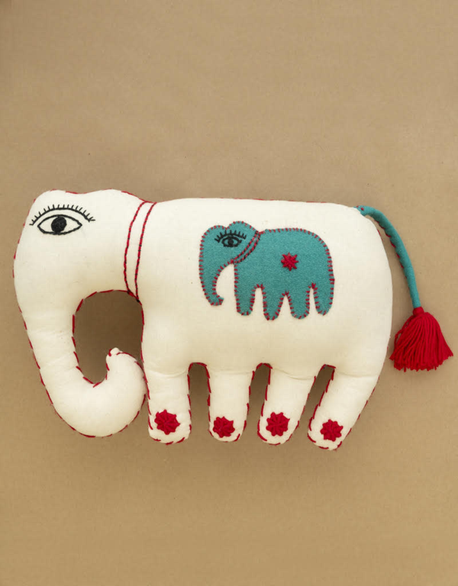 White Medium Elephant