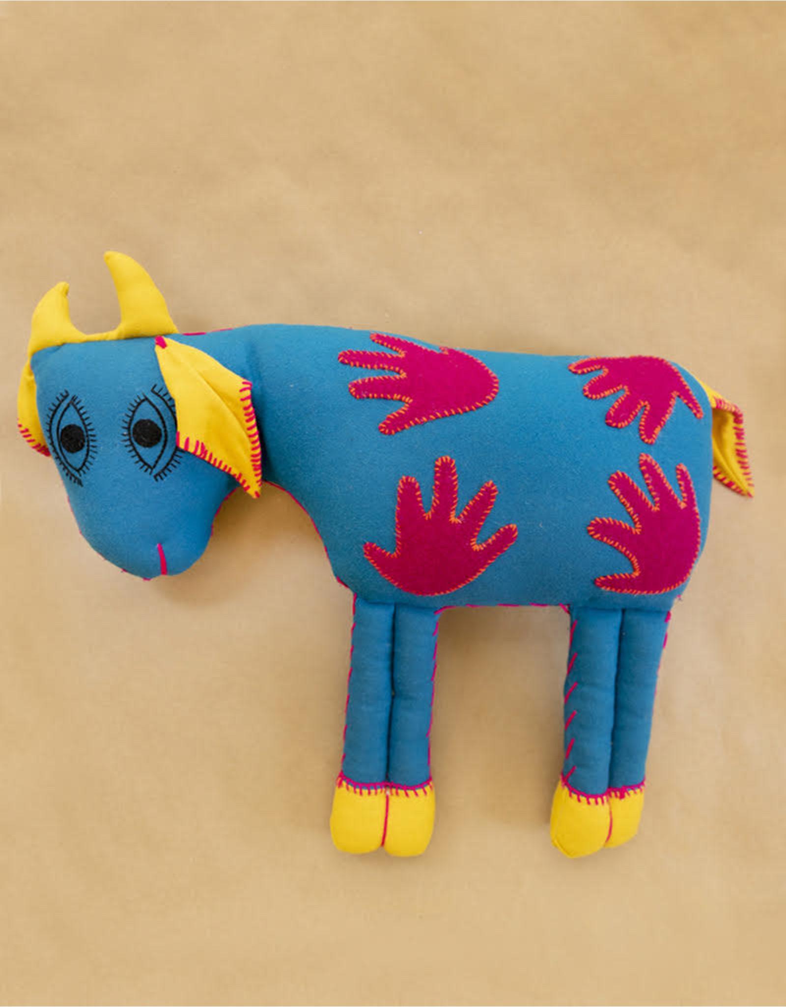 Turquoise Large Goat